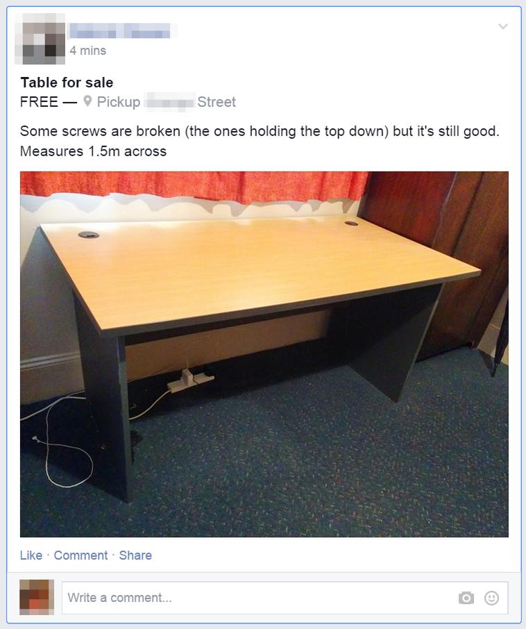 фейсбук бутон продай