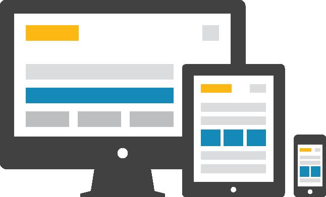 респонсив дизайн, тоест мобил френдли или казано на български сайт с адаптивен дизайн -