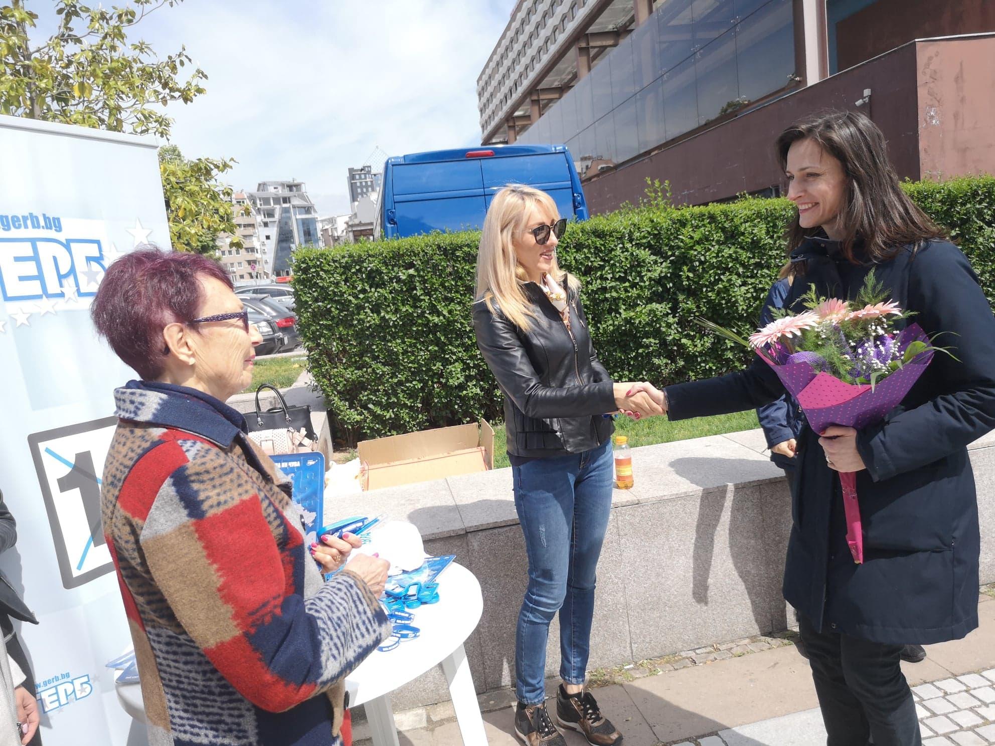 Евроизбори 2019: Мария Габриел в Пловдив
